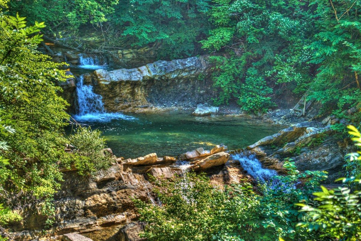 водопад на реке Жане