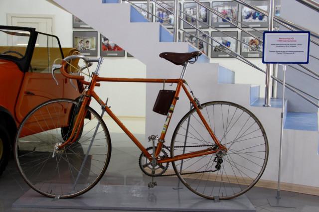 велосипед Юрия Гагарина