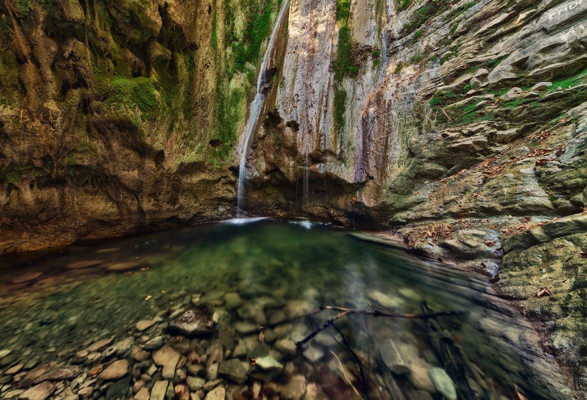 Тешебские водопады