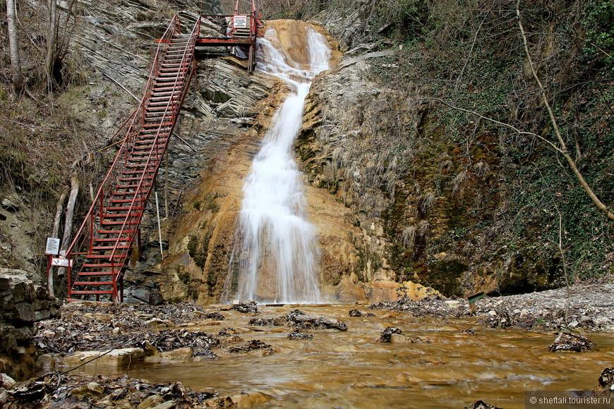 Гебиусские водопады в Геленджике