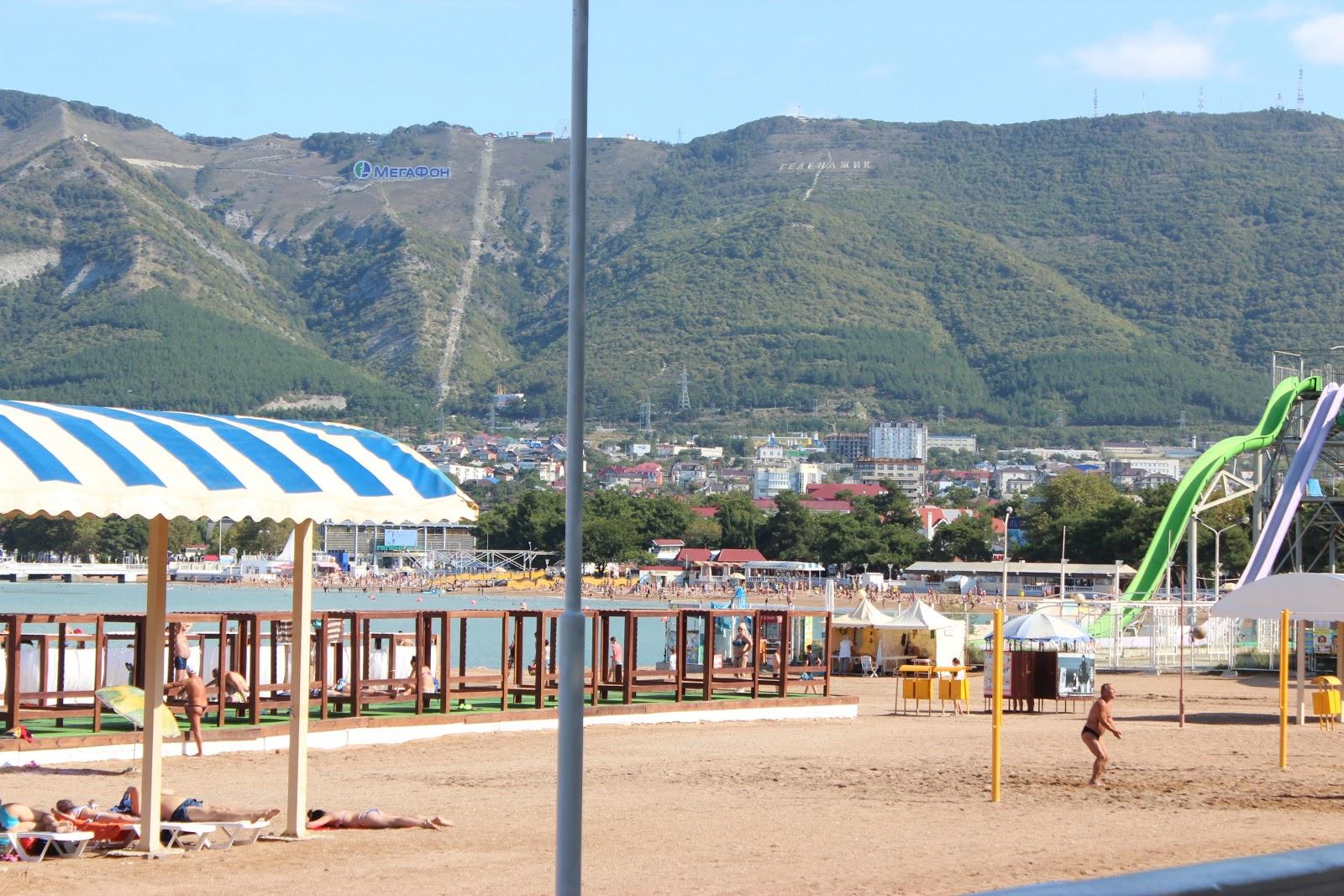 пляж Голубой волны