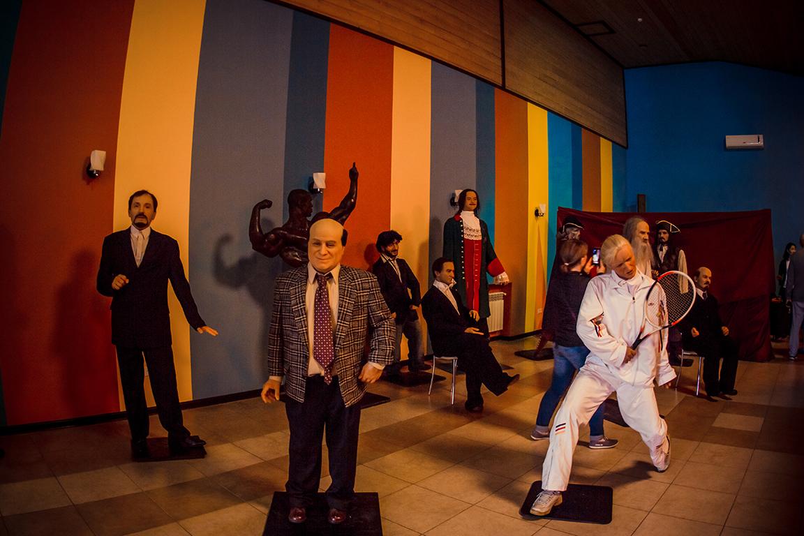 Музей восковых фигур в городе Геленджике