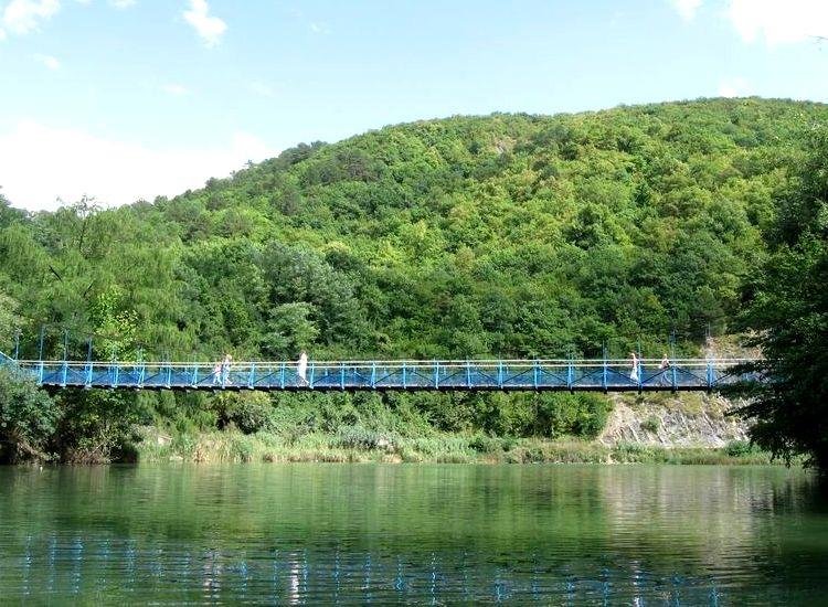 мост на тропе Терренкур