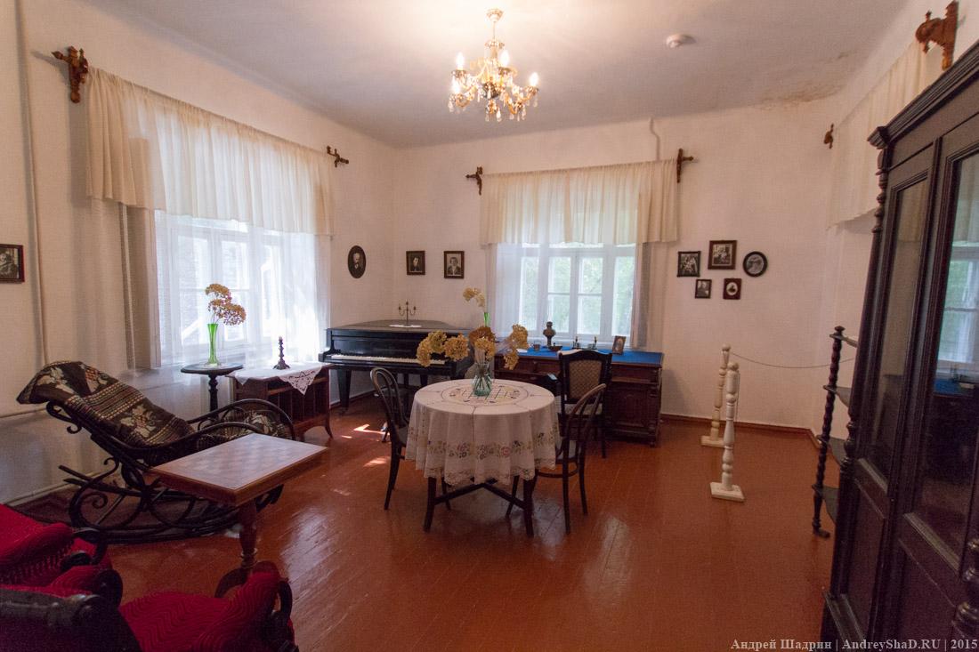 Дом музей Короленко в городе Геленджик