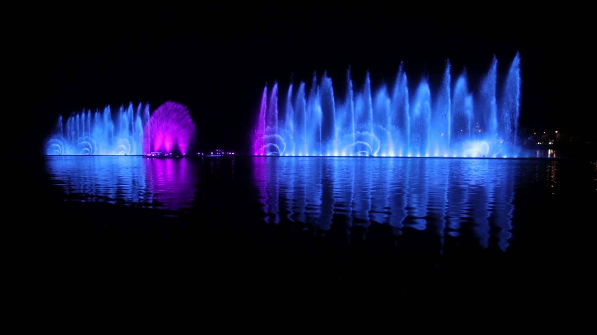 Музыкальные фонтаны Абрау