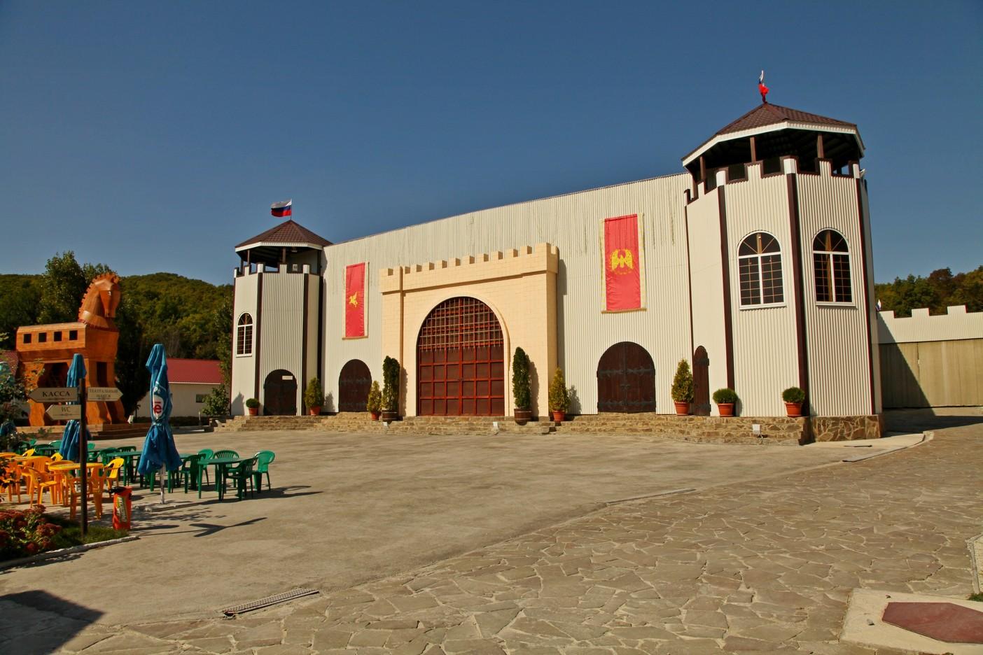Фото туристического комплекса в абрау
