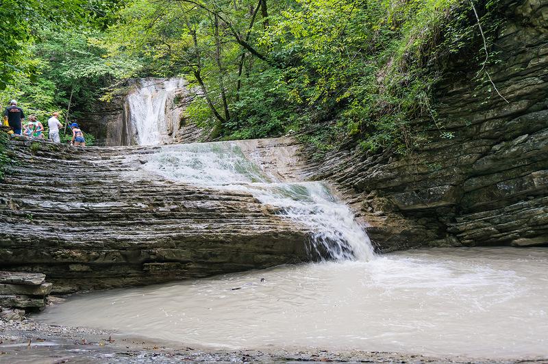 Водопады ручья Горлянов