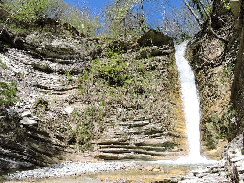 Водопады в Адербиевке