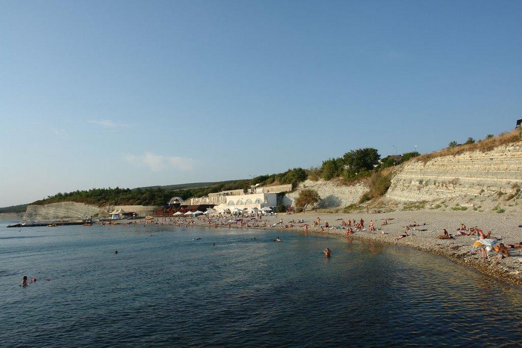 Пляж под названием «Факел»