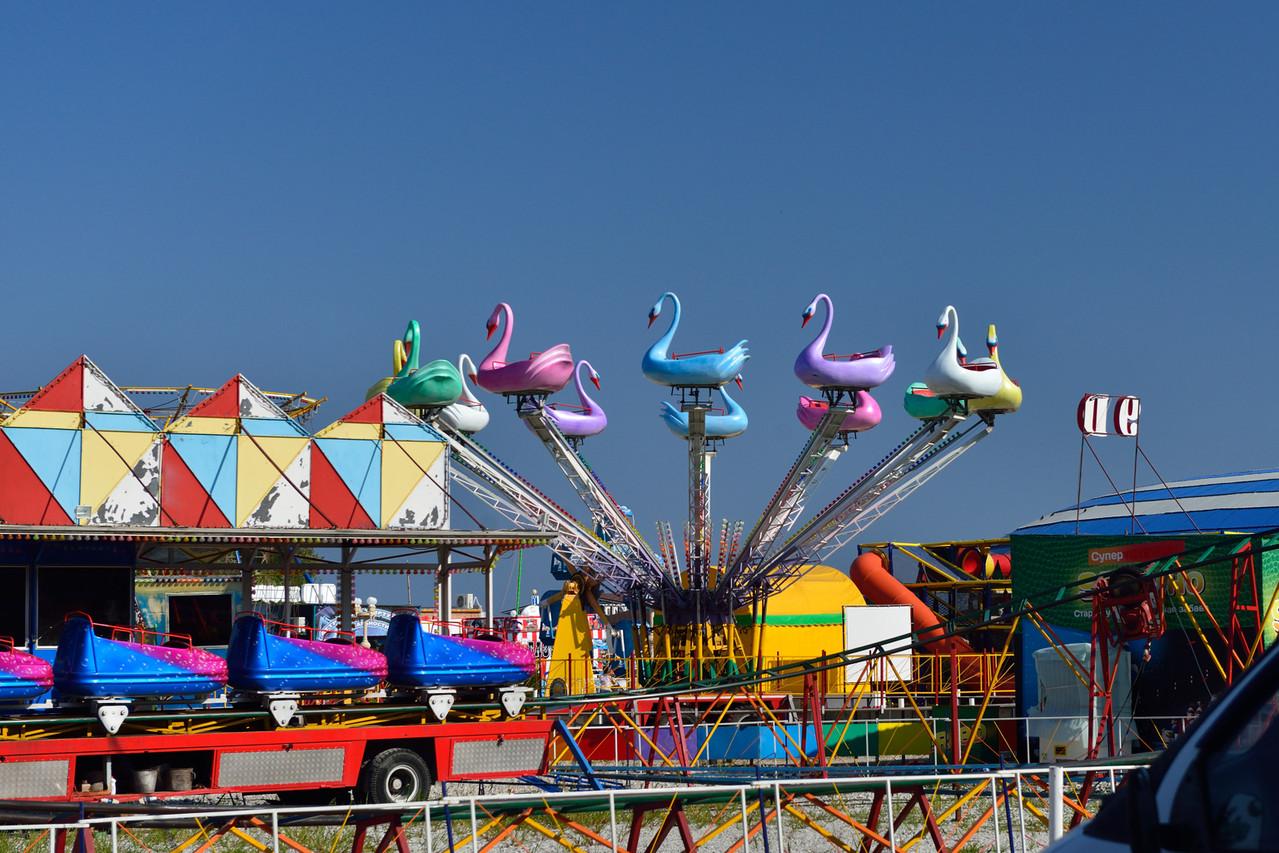 Парк развлечений Малибу в Архипо-Осиповке