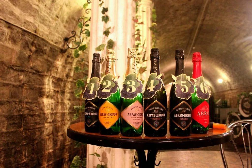 Музей шампанского Абрау Дюрсо