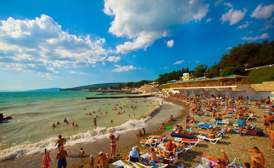 пляж «Голубая даль»