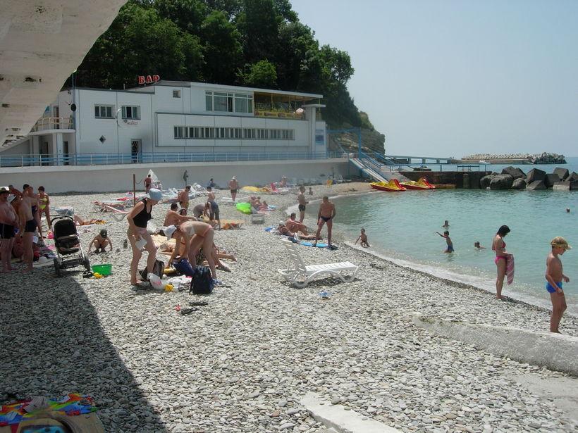 Пляжи вблизи санаториев