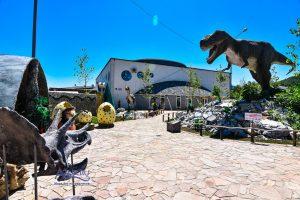 Парк динозавров в Архипо-Осиповке