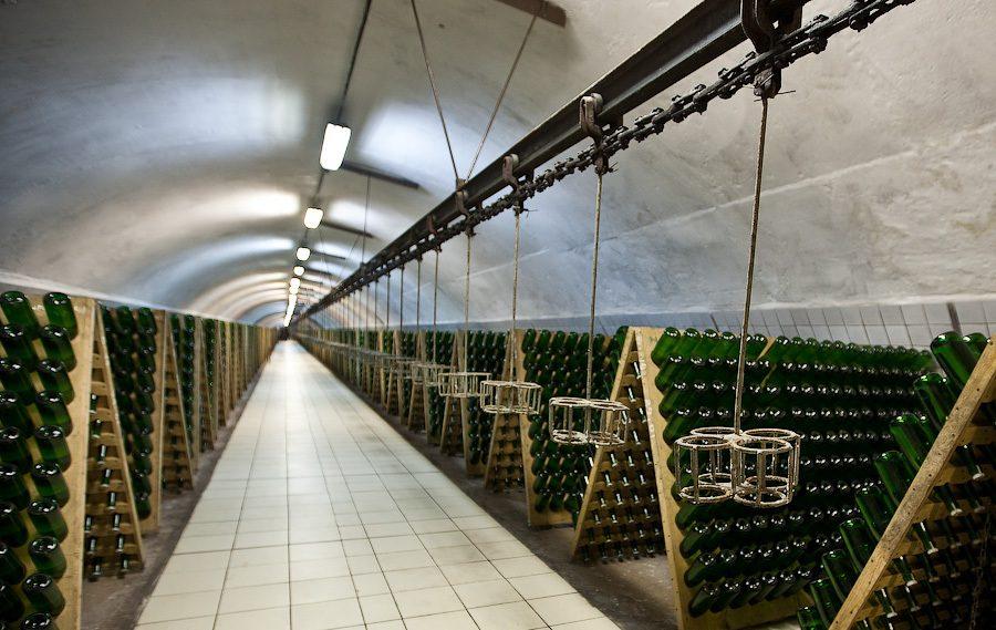 Завод шампанских в Абрау-Дюрсо