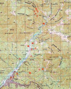 Пшадские водопады маршрут на карте