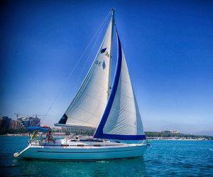 Яхта под названием Атланта