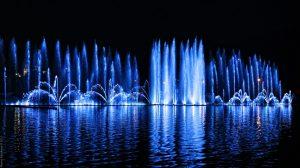 Танцующий фонтан в Абрау-Дюрсо